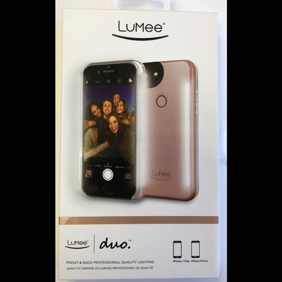 19dbfe03bab LuMee Accessories - LuMee Duo Case for iPhone 7 Plus/8 Plus -Rose Gold